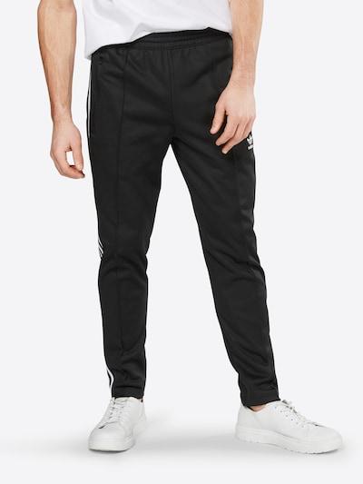 ADIDAS ORIGINALS Spodnie w kolorze czarny / białym, Podgląd na modelu(-ce)