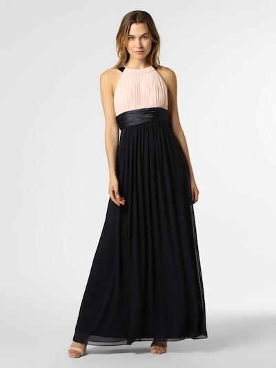 Marie Lund Abendkleid in kobaltblau / rosa, Produktansicht