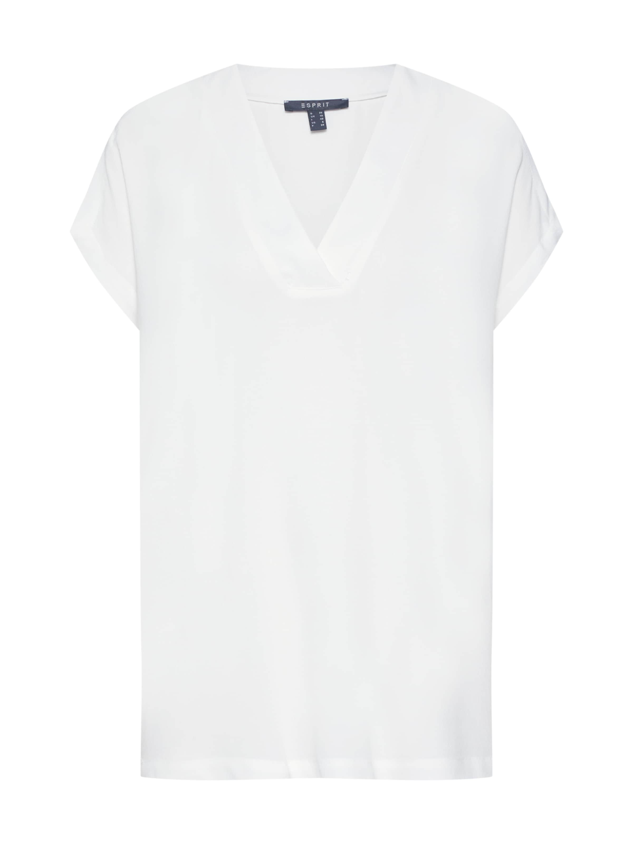 Blusenshirt Fluid Offwhite 'new Visco' Collection Esprit In yO8wNv0mnP