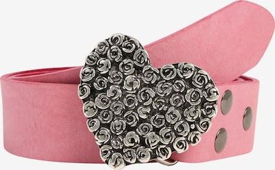 RETTUNGSRING by showroom 019° Ledergürtel in pink, Produktansicht