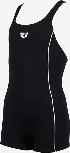 ARENA Badeanzug 'Finding' in schwarz / weiß, Produktansicht