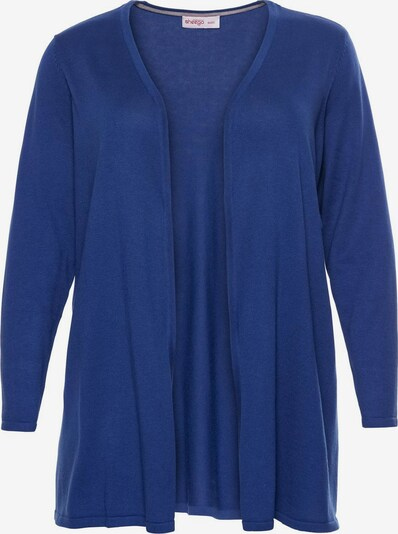 SHEEGO Strickjacke in royalblau, Produktansicht