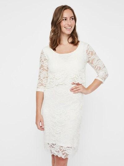 MAMALICIOUS Kleid in weiß, Modelansicht