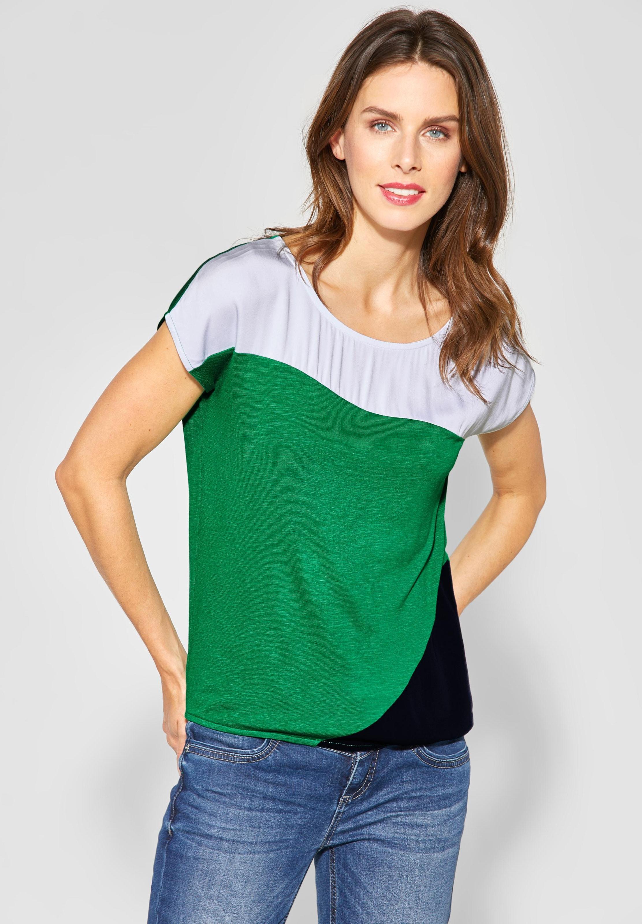 In GrünSchwarz Weiß One Shirt 'vianna' Street EH9IWYDe2