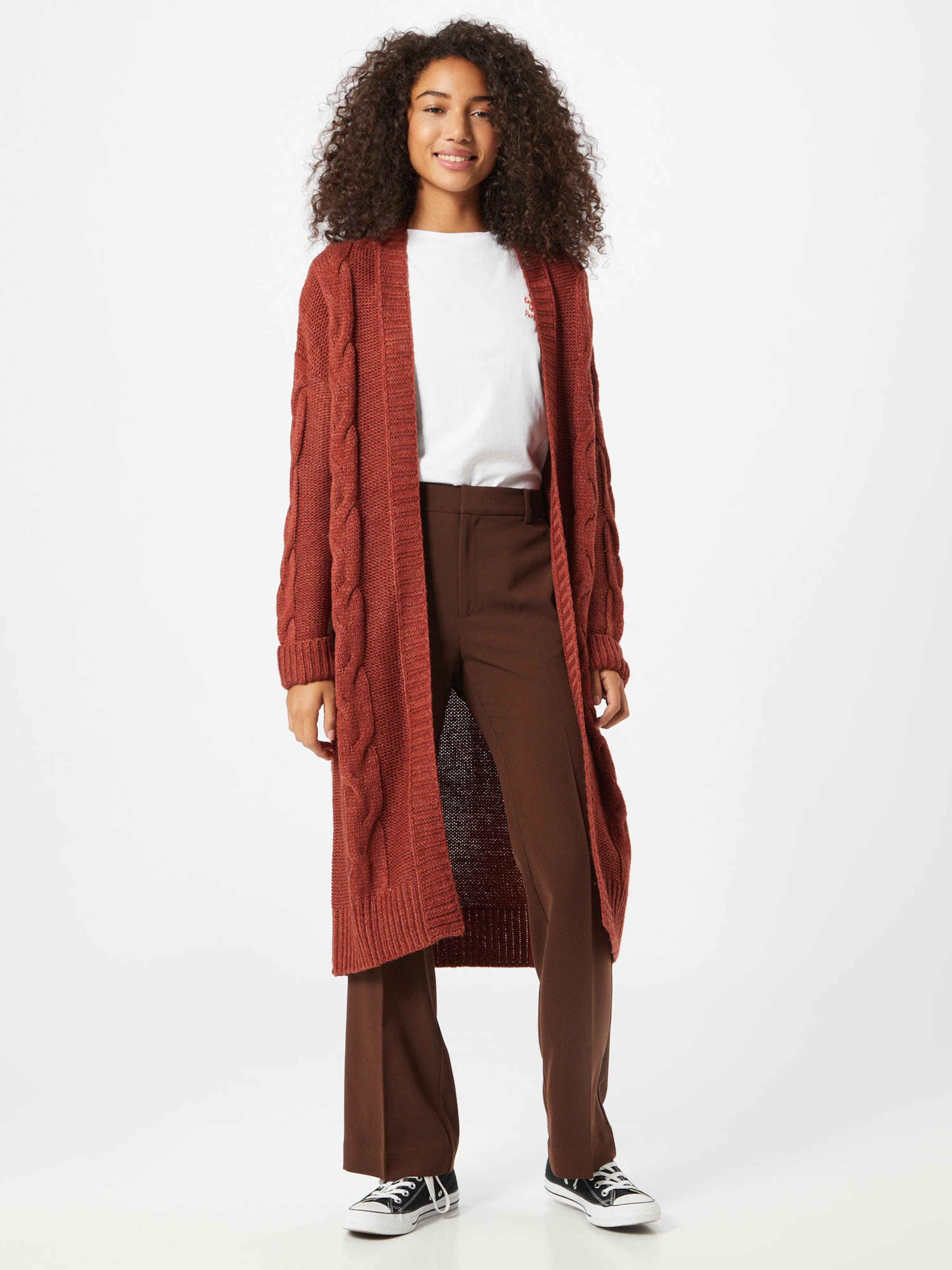 ABOUT YOU Kofta 'Rosie' i brun / rostbrun