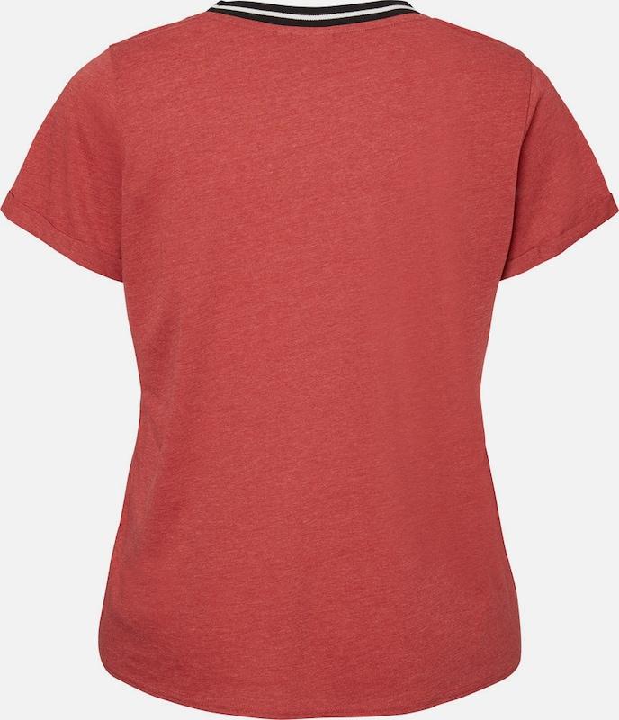 Weiß Junarose T Schwarz Hellrot shirt x1UzvT