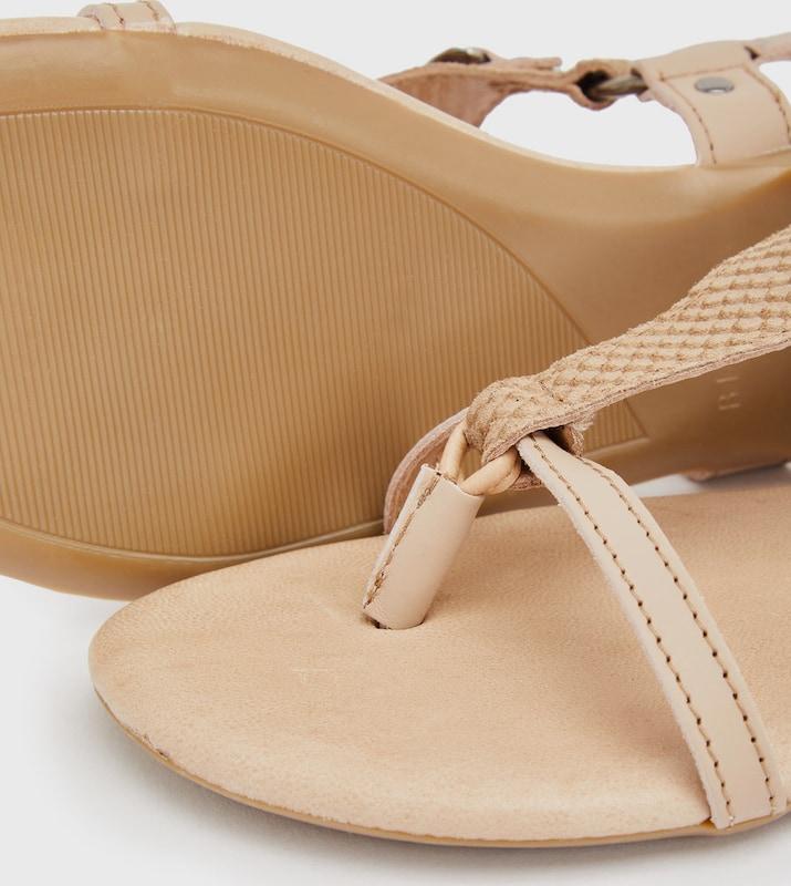 Haltbare Mode billige billige Mode Schuhe Bianco | Dreiecksketten Sandalen Schuhe Gut getragene Schuhe 2119a4