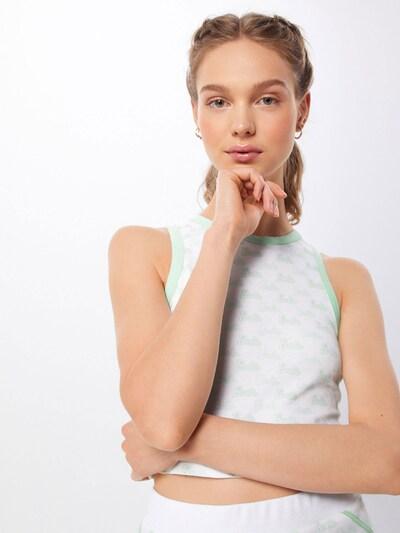 Palaidinė be rankovių 'Mieke' iš ABOUT YOU X Barbie , spalva - mėtų spalva: Vaizdas iš priekio