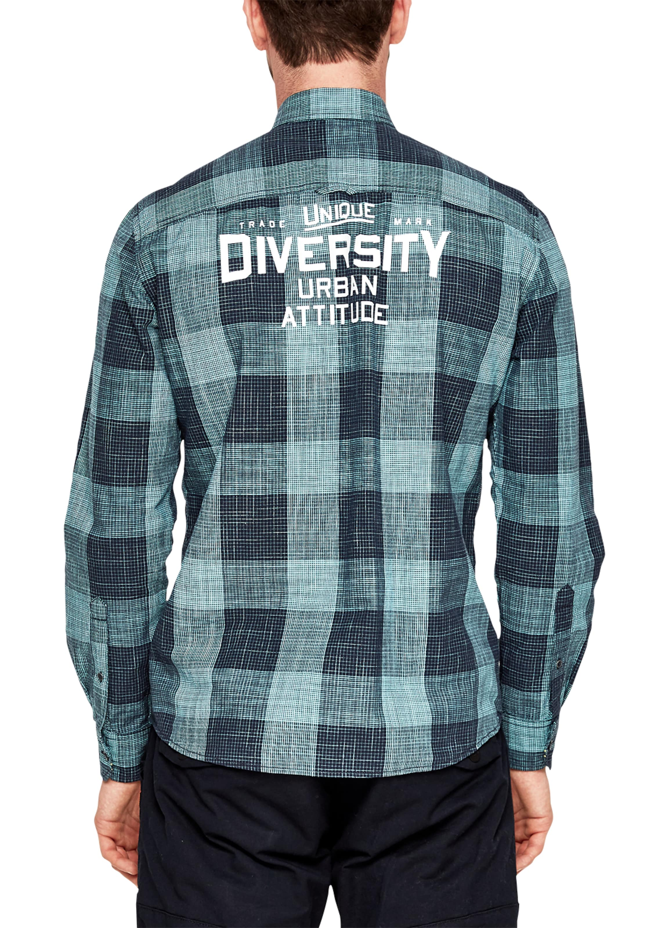 s.Oliver RED LABEL Regular: Hemd mit Slub Yarn-Struktur Discount-Marke Neue Unisex Finish Zum Verkauf Austrittsspeicherstellen KGn7N8