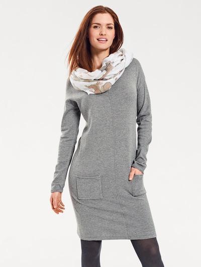 heine Úpletové šaty - šedý melír, Model/ka