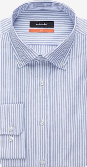 SEIDENSTICKER Hemd in rauchblau / weiß, Produktansicht