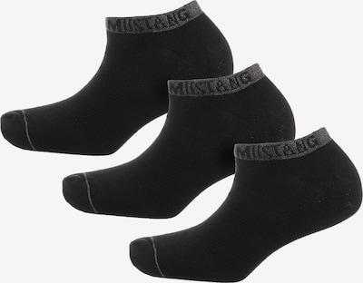 MUSTANG Socken in schwarz, Produktansicht