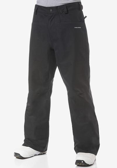 Volcom Outdoorbroek 'Carbon' in de kleur Grijs / Zwart, Productweergave
