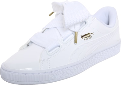 PUMA Baskets basses 'Basket Heart Patent'