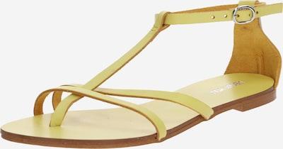 ABOUT YOU Séparateur d'orteils 'Julina' en jaune, Vue avec produit