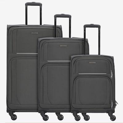 TRAVELITE Kofferset in de kleur Zwart gemêleerd, Productweergave