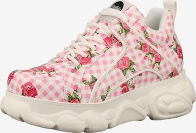 BUFFALO Zemie apavi 'CORIN' pieejami rozā / balts: Priekšējais skats