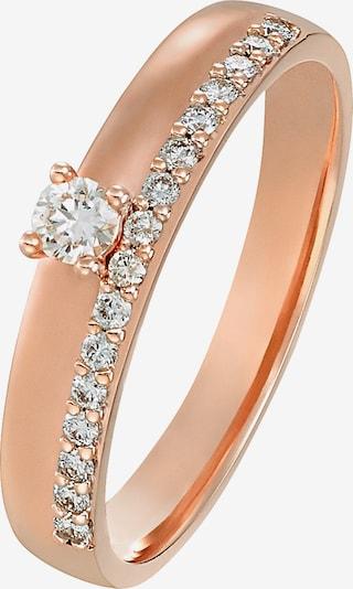 CHRIST Ring in rosegold, Produktansicht