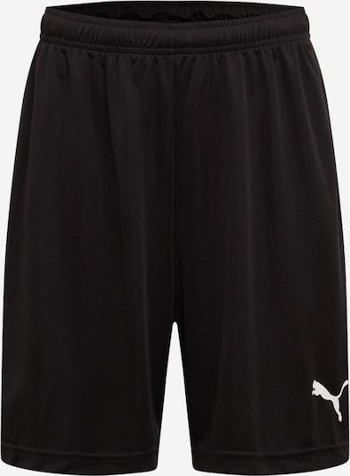 PUMA Športne hlače 'Liga' | črna / bela barva, Prikaz izdelka