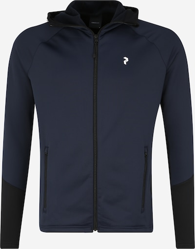 PEAK PERFORMANCE Sweatjacke 'RIDER ZIP' in dunkelblau, Produktansicht