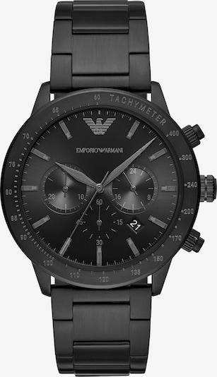 Emporio Armani Chronograph in schwarz, Produktansicht