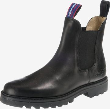 Blue Heeler Chelsea Boots 'Jackaroo' in Schwarz