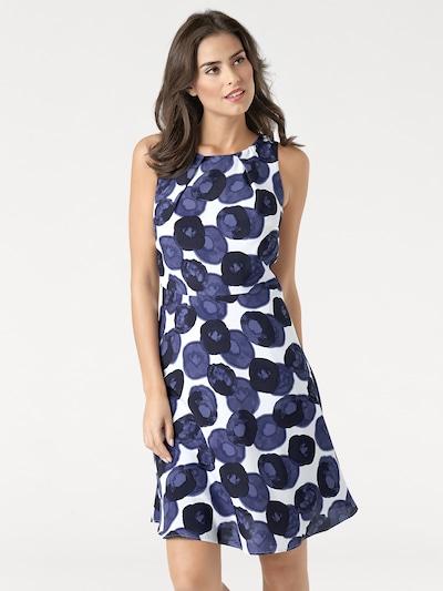 heine Kleid in marine / offwhite, Modelansicht