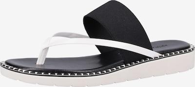 Rapisardi Pantolette in schwarz / weiß, Produktansicht