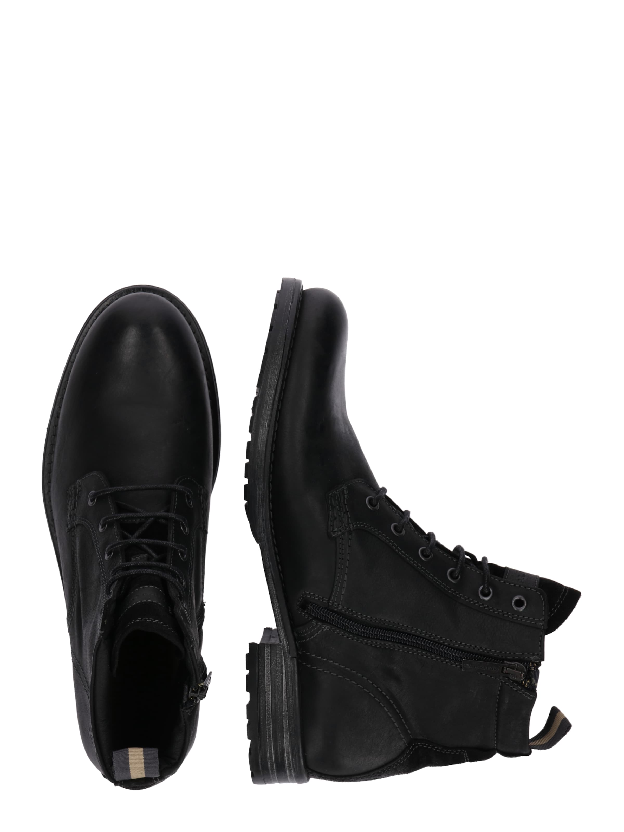 O'polo Schnürboots Schnürboots In In In Marc Schwarz O'polo Marc O'polo Schnürboots Schwarz Marc rCQthdBsx
