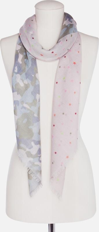 CODELLO Tuch mit Camouflage- und Sternchen-Muster