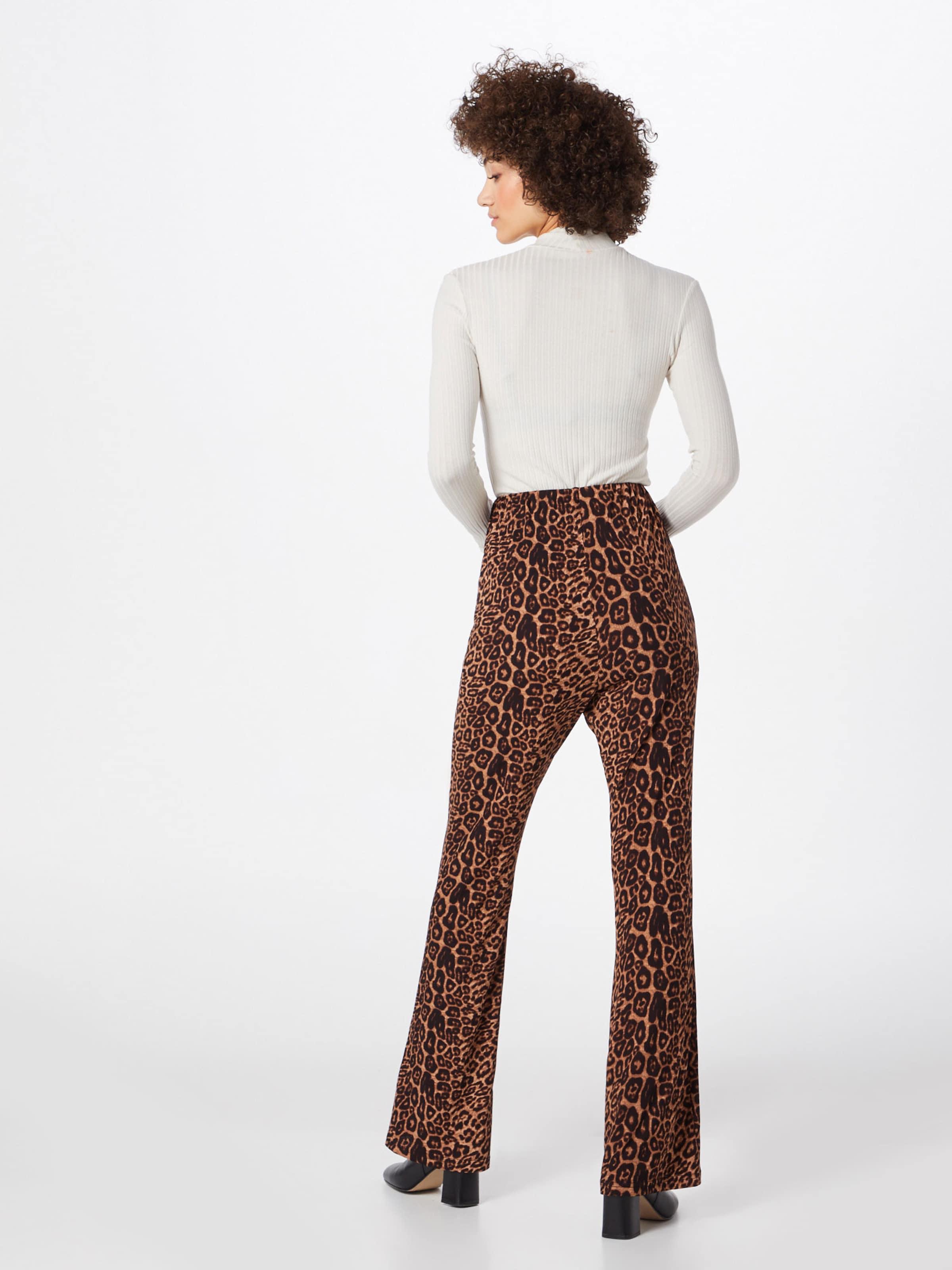 En Marron Trousers' 'ladies Pantalon Glamorous K13FJTlc