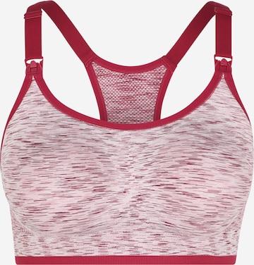 Soutien-gorge d'allaitement Bravado Designs en rouge