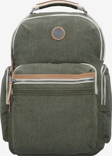 KIPLING Rucksack 'Edgeland Osho' in beige / braun / khaki, Produktansicht