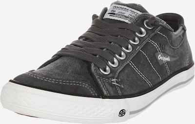 Dockers by Gerli Sneaker in dunkelgrau / weiß, Produktansicht