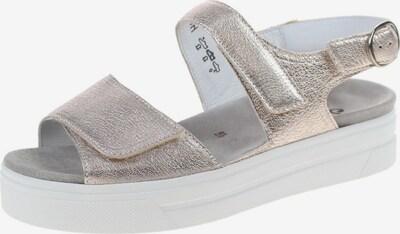 SEMLER Sandale in silber, Produktansicht