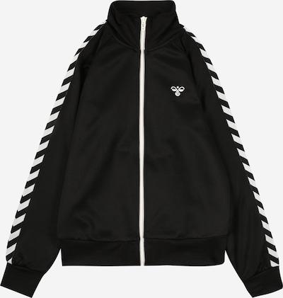 Hummel Sweatjacke 'Kick' in schwarz / weiß, Produktansicht