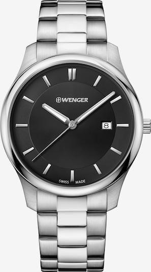 WENGER Uhr 'City Classic' in schwarz / silber, Produktansicht