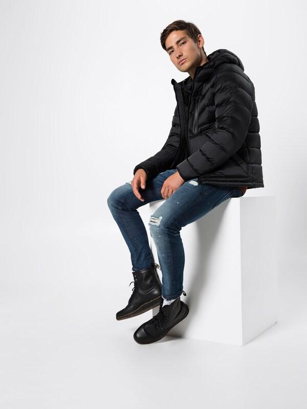 Noir 'dover' Pepe Jeans Veste En D'hiver KJ3TFcl1