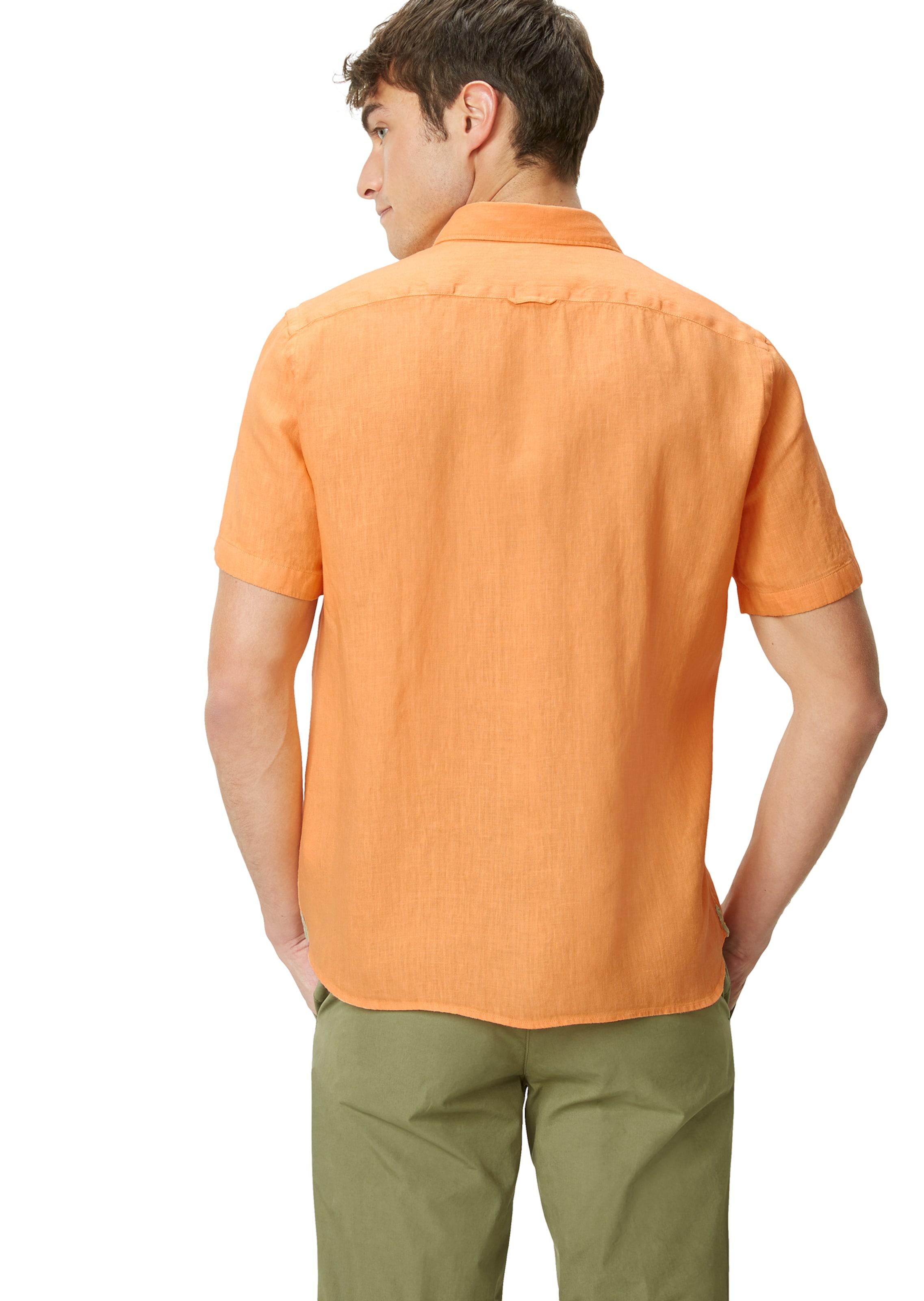 O'polo Marc Kurzarm In hemd Orange tQshrCdx