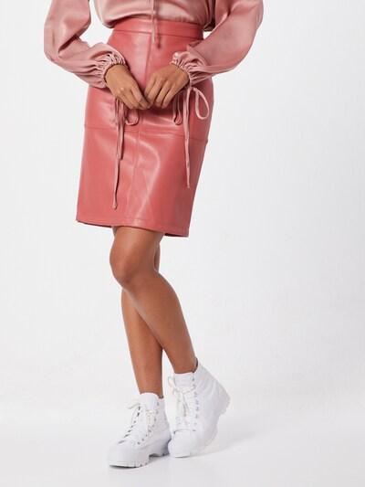 VILA Rok 'Vipen' in de kleur Pink: Vooraanzicht