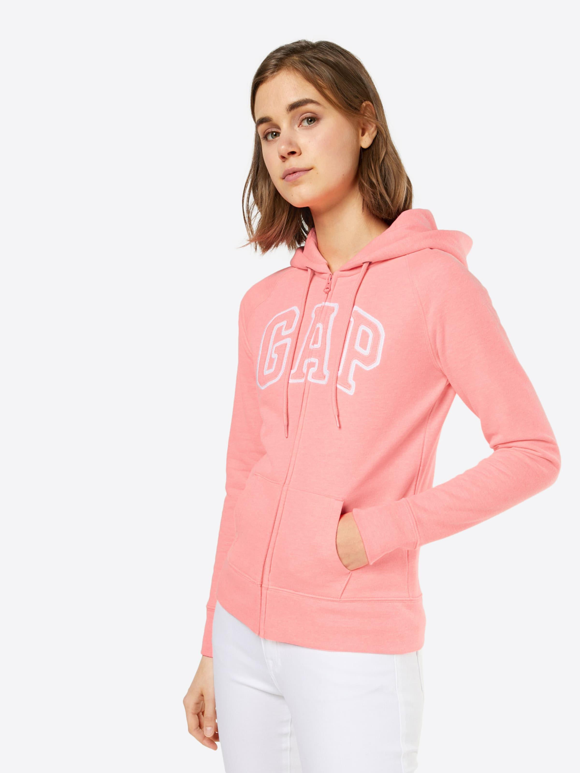 GAP Sweatshirtjacke 'LOGO' Verkauf Erkunden YZRl8Pje