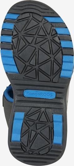 KangaROOS Sandale 'Logan' in blau / dunkelgrau: Ansicht von unten