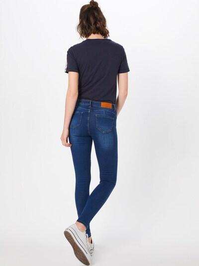 Noisy may Jeans 'JEN' in blue denim: Rückansicht