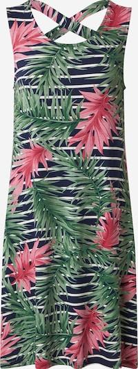 ZABAIONE Robe d'été 'Gia' en bleu marine / vert / rose / blanc, Vue avec produit