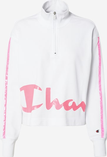 Champion Authentic Athletic Apparel Sweatshirt in de kleur Pink / Wit, Productweergave