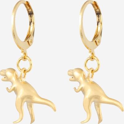 Fräulein Wunder Ohrringe 'Dinos T-Rex' in gold, Produktansicht