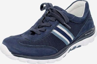 GABOR Sneaker in rauchblau / dunkelblau / weiß, Produktansicht