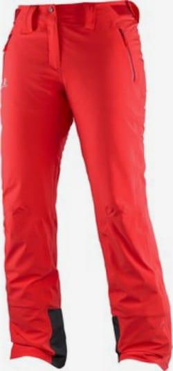 SALOMON Skihose 'Iceglory' in rot, Produktansicht