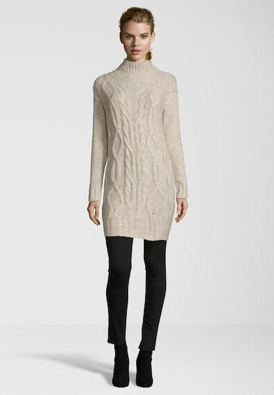 BLAUMAX Strickkleid 'ANNE DRESS WOODSMOKE' in weiß, Modelansicht
