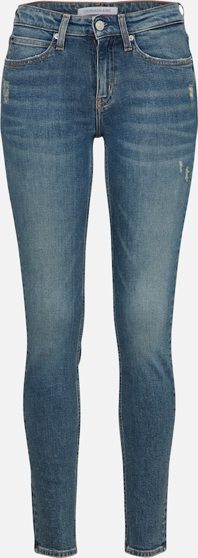 Calvin Jean Denim Klein Jeans En Bleu ED9He2WIY